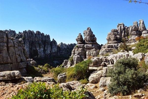 El Torcal Natural Reserve in Malaga