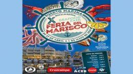 10th Seafood fair in Benalmadena. Puerto Deportivo